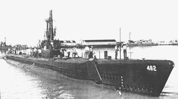 [The Irex in about  1945]